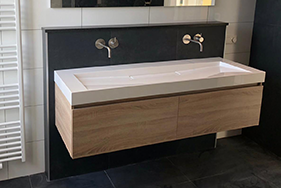 Badkamer en toilet plaatsen nieuwbouw Heerenveen