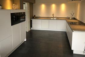 Grote keuken geplaatst in Franeker