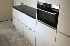 Keuken en aanbouw renovatie Ruisbroekstraat Leeuwarden
