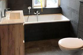 Badkamer en toiletrenovatie Azaleastraat
