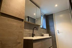 Prachtige nieuwe badkamer Stiens