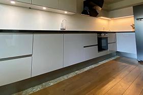 Keuken geplaatst Ruiterweg Leeuwarden