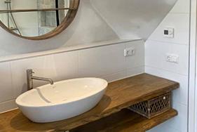 Prachtige badkamer Weberstraat Leeuwarden