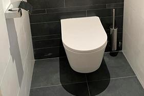 Badkamer en toilet renovatie in Grou